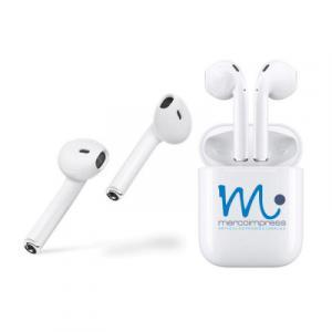 Auriculares Bluetooth con Cajita